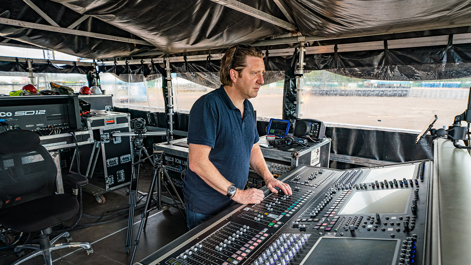 Chris Marsh, Ed Sheeran Production Manager & FOH Engineer