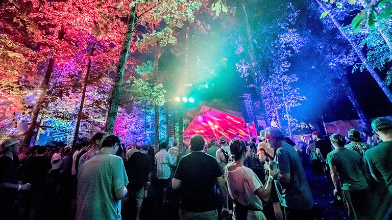 LEO Family and ULTRA-X40 Power Garcia's Forest at the LOCKN' Festival