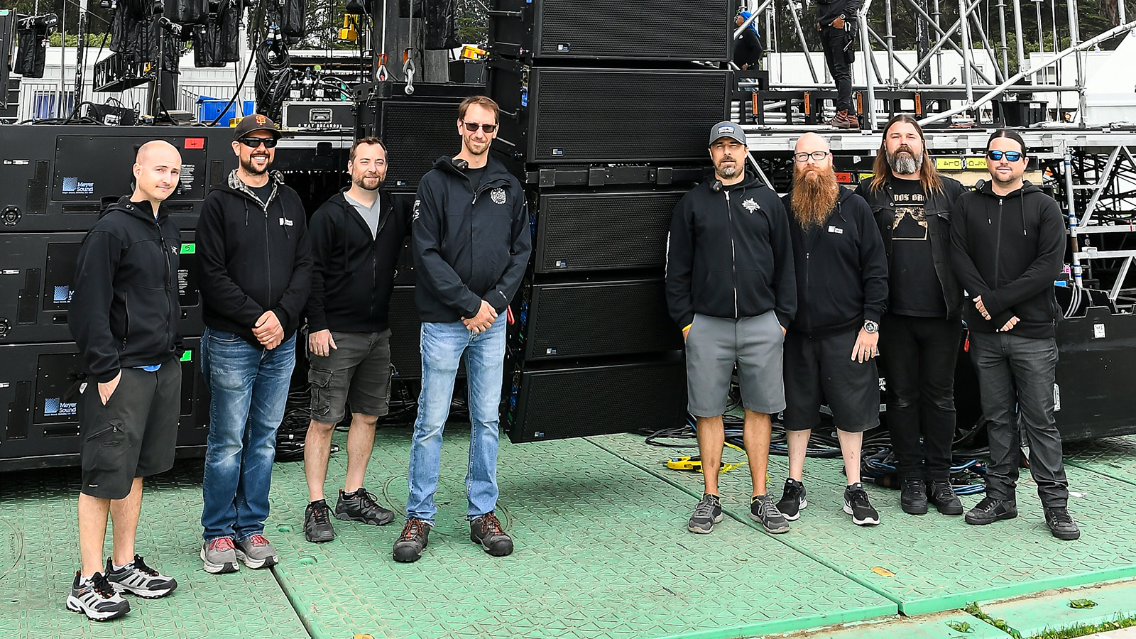 Outside Lands 2019 Lands End Main Stage Crew