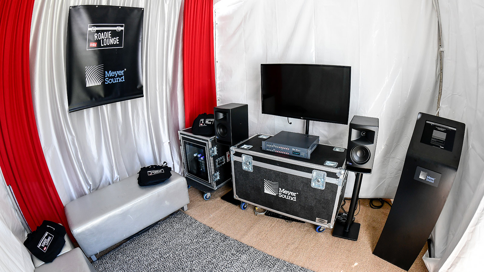 Relix Roadie Lounge at Outside Lands 2019