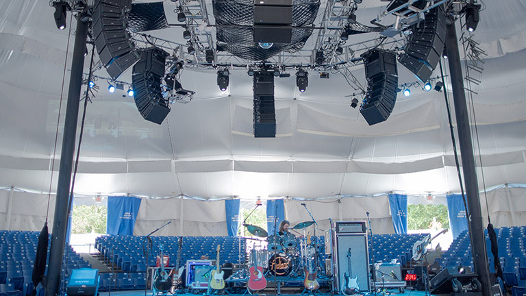 Cape Cod Melody Tent Thrives with LEOPARD
