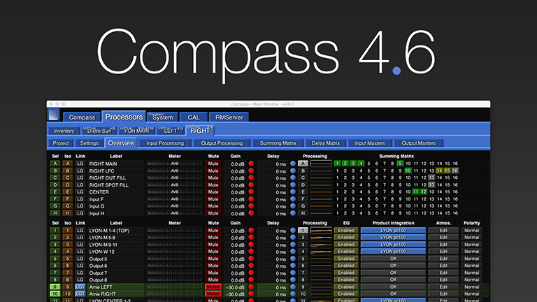 Compass 4.6 Software Offers Milan Integration and Streamlined System Configuration