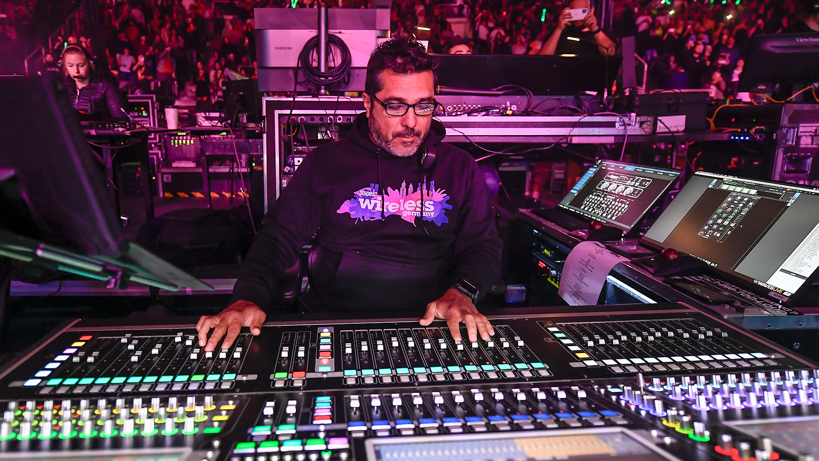 John Buitrago, FOH Engineer