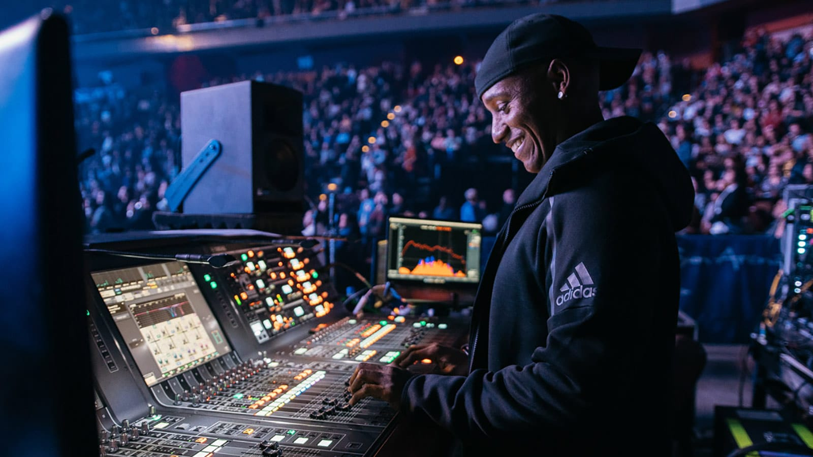 Jose Rivera, FOH Engineer, Marc Anthony at Mohegan Sun Arena, Uncasville, CT