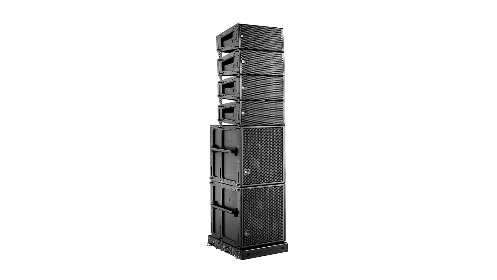 LINA Very Compact Linear Line Array Loudspeaker and 750-LFC Very Compact Low-Frequency Control Element
