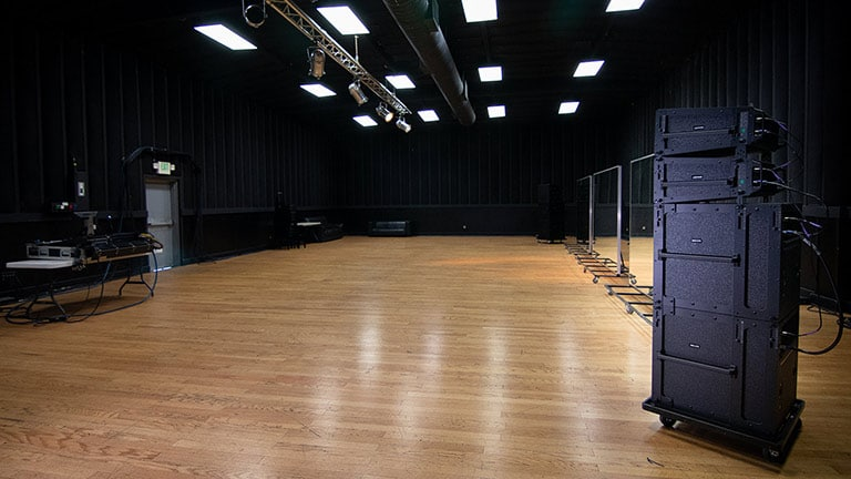 CenterStaging Rehearsal Studios Elevate Audio with LEOPARD Systems