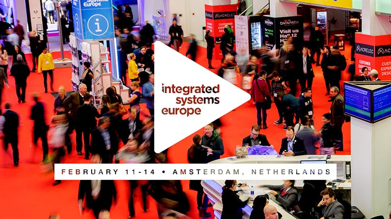 New Products, Technology Demos and Relaxing Hospitality on Tap for ISE