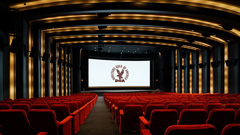 Prestigious DGA Theater Upgrades to Dolby Atmos with Cinema Loudspeakers