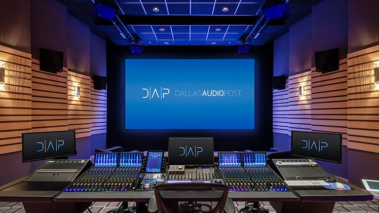 "Sound System Provides Full Immersion in ""Double Duty"" Atmos Room at Dallas Audio Post"