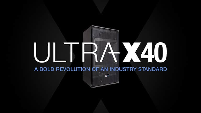 ULTRA-X40 Point Source Loudspeaker Earns Accolades Across All Applications